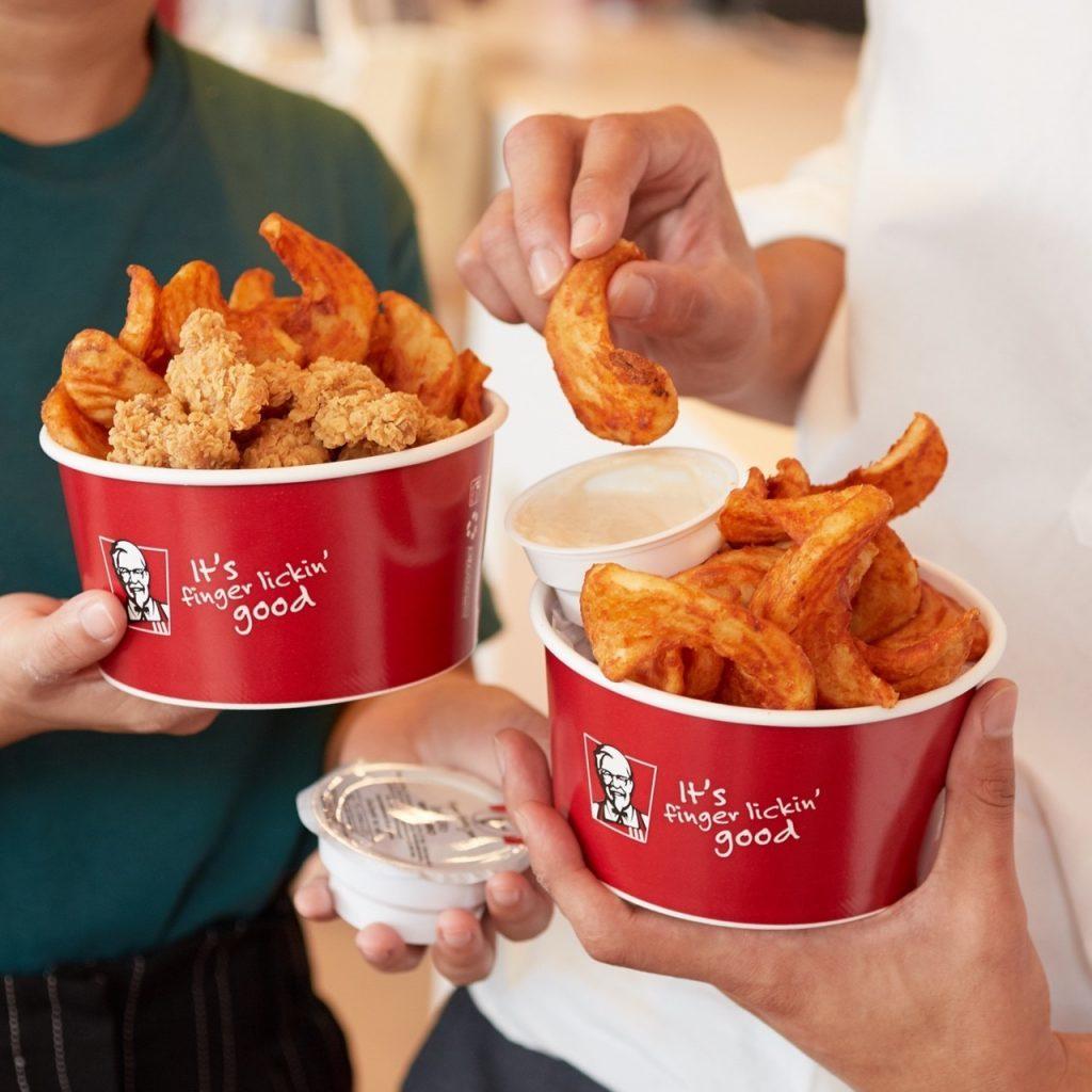 เมนูที่ขายดีที่สุดของ-KFC